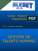 Clase 1 - Gestion de Talento Humano - Introduccion
