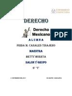 Derecho Mexicano