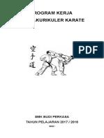 Program Tahunan Ekstrakurikuler Karate