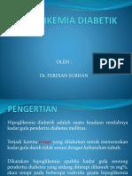 HIPOGLIKEMIA DIABETIK