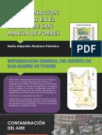 Contaminacion en San Martin de Porres 2016