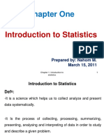 Chapter 1 Introduction to Statistics for Engineers
