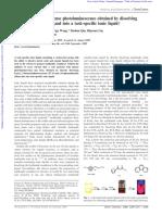 Chem. Commun., 2008, 5209 Ref Calculos Eficiencia Cuantica Dif Einstein