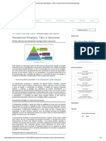 Planejamento Estratégico, Tático e Operacional _ Portal Administração