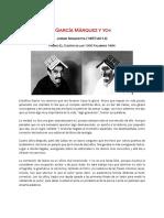 García Márquez y Yo