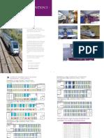 Seat Map - TGV Duplex (TGD) (Generation 3 «Euro Duplex»)