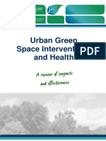 Urban Green Spaces 2017