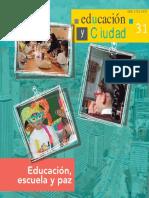 Revista Educacion Ciudad 31