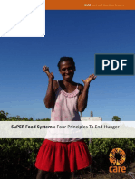 CARE SuPER Food Systems 4 Principles to End Hunger