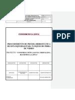 040-Pet Prueba Hidrostática de Estanqueidad Para Tanques de Almacenamiento