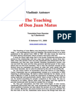 Teachings of Juan Matus
