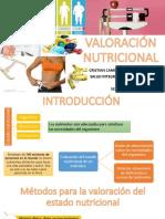 VALORACIÓN NUTRICIONAL
