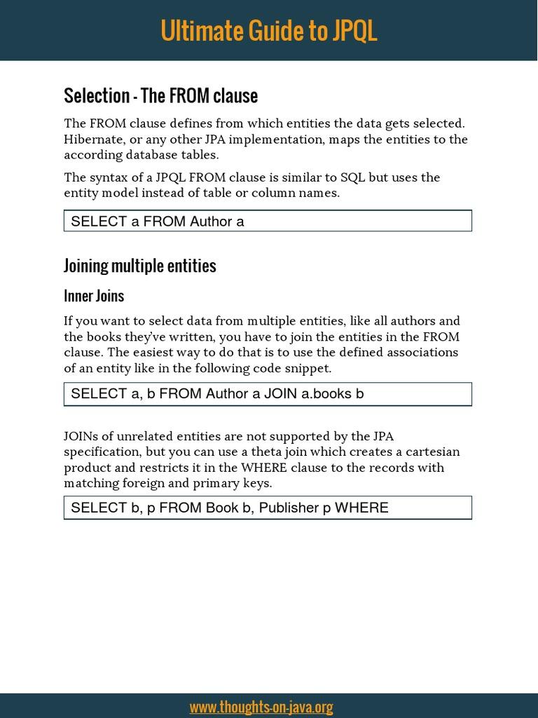 Jpa Select Specific Columns