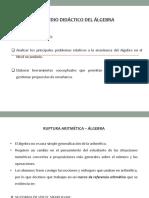 Estudio Didáctico Del Álgebra