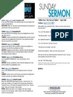 Growth Guide Week of September 25
