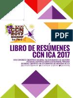Libro de Resúmenes CCN ICA 2017