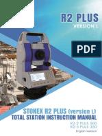Stonex R2 Plus User Manual (L Style) Ver 1 En