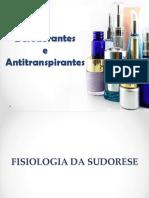 Desodorante-Antitranspirante - atualizado