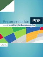 RECOMENDACIÒN SOBRE EL APRENDIZAJE Y LA EDUCACIÒN DE ADULTOS.pdf