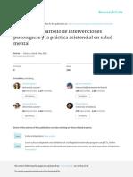 Tortella (2016) Retos Desarrollo Intervenciones