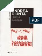 Poscrisis. Arte argentino después del 2001 ANDREA GIUNTA