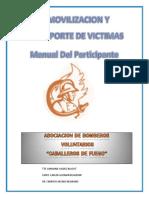 Manual Inmovilizacion y Transporte de Victimas