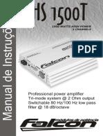 Manual Falcon Modulo de Potencia Hs1500t