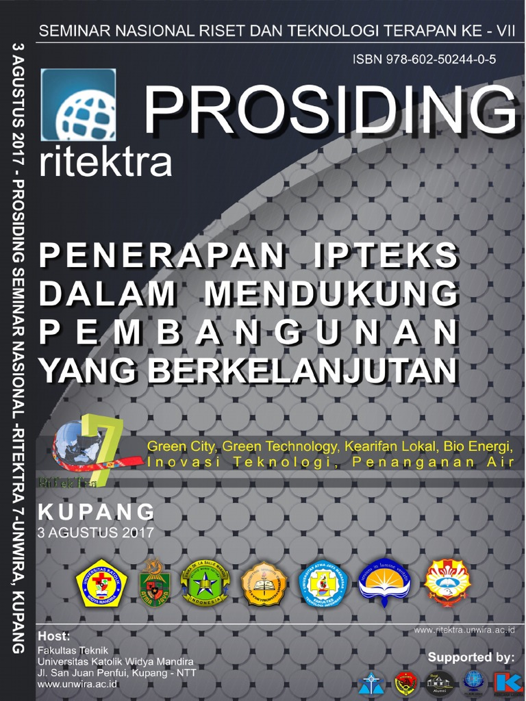 Prosiding Ritektra Vii Unwira Kupang