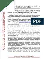 Hospital Niño Jesús Guía primeros auxilios.