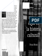 Historia Cultural Burke