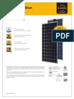Sunmodule Bisun Xl Solar Panel Datasheet