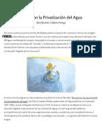 Aguas Con La Privatización Del Agua _ Nexos