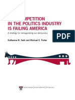 Why Competition in the Politics Industry is Failing America