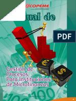 Manual de Gestión de Procesos Para Instituciones de Microfinanzas