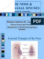 Anatomy and Physiology of the Nose and Paranasal Sinuses. Diagnosis and Management of Rhinosinusitis