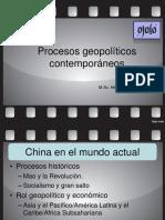Procesos geopolíticos contemporáneos