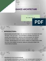 Reinassance Architecture