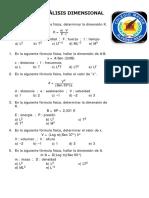Taller Analisis Dimensional