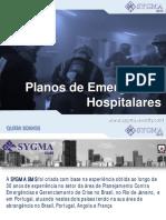 Planos de Emergência Hospitalares# - SYGMA SMS