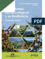 Calderón - Los Sistemas Socioecológicos y Su Resiliencia