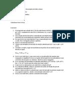 Aula 6 - Equilibrio Ionico e Forca de Acido e Base