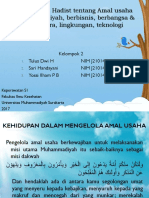 Al Quran & Hadist Tentang Amal Usaha Muhammadiyah