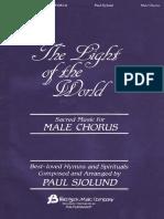 The Light of the World Songbooks Ttbb
