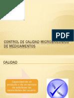 CONTROL DE CALIDAD MICROBIOLÓGICO DE MEDICAMENTOS.pptx