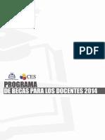 Programa de Becas Para Los Docentes 2014