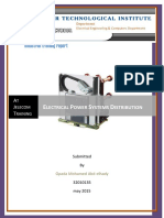 Electrical Power Systems Distribution