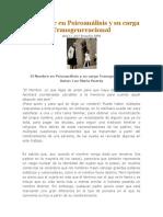 El Nombre en Psicoanálisis y Su Carga Transgeneracional - Luz María Huerta