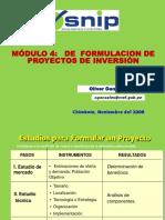 Modulo 4 Proyecto de inversión
