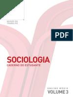 Sociologia - Mundo Do Trabalho - Volume 3