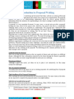 How to Write a Successful Project Proposal_NGO Resource Centre - Afghanistan